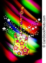 colorito, chitarra
