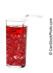 ice cold grape juice - isolated ice cold grape juice