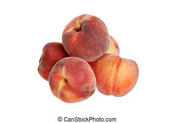 pile of peaches