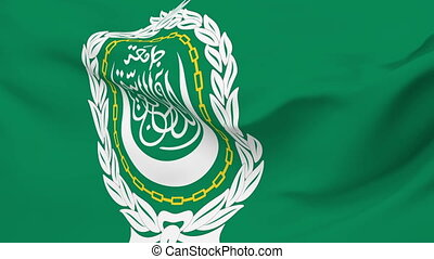 Flag of League Arab States - Flag of the League Arab States...