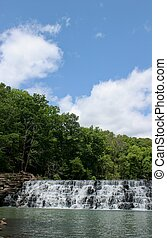 Devils Den State Park - This is the Spillway Waterfall The...