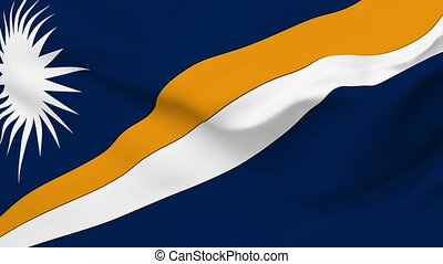 Flag of Marshall Islands - Flag of the Marshall Islands...