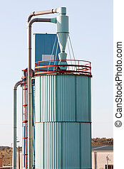 Industrial Exhaust Silo - ndustrial Exhaust Silo structure...
