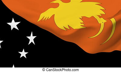 Flag of Papua New Guinea - Flag of the Papua New Guinea...