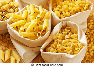 Assorted pasta
