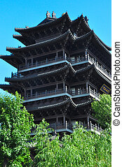 North Pole Temple 1175 - The largest Taoist Temple in Jinan...