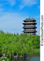 North Pole Temple 1159 - The largest Taoist Temple in Jinan...
