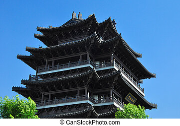 North Pole Temple 1177 - The largest Taoist Temple in Jinan...
