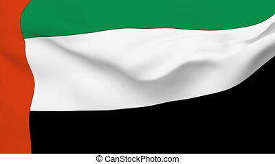 Flag of United Arab Emirates - Flag of the United Arab...