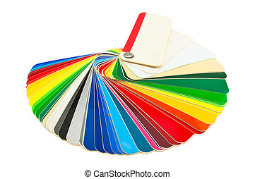 color guide - detailed color catalog samples adhesive film...