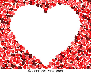 Valentine's day - Hearts background - Valentine's day...