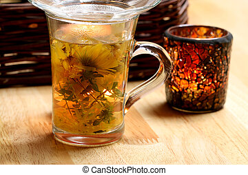 Herbal tea therapy