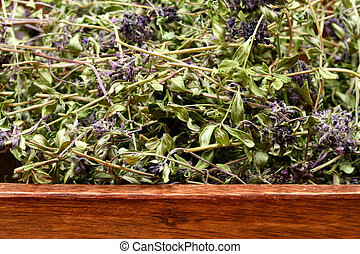 Dried thyme bowl