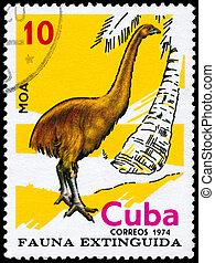 CUBA - CIRCA 1974 Moa - CUBA - CIRCA 1974: A Stamp printed...