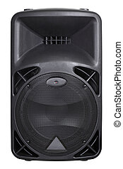 Loudspeaker - Photograph of the front of a concert...
