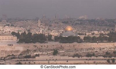 Jerusalem 1 - view of Old Jerusalem