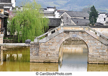 Ancient village - Landscape of a typical Chinese ancient...