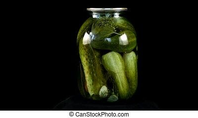 loop canned cucumbers