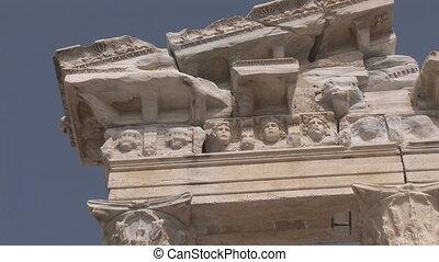 Apollo temple - ruins of Apollo temple in Side