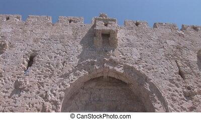 Zion Gate -  Zion gate in Jerusalem
