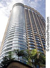 Skyscrape - Modern skyscraper in Kuala Lumpur, Malaysia