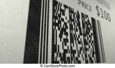 QR code scan check