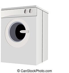 Washing Machine - Home appliances for the home. A modern...