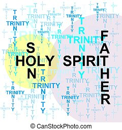 trinity - the trinity, the father, son and holy spirit