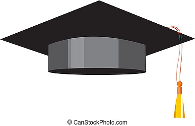Academic cap - Image can be used as a symbol of education