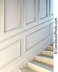 Classical staircase.
