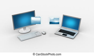 Multimedia files transfer  - Multimedia files transfer