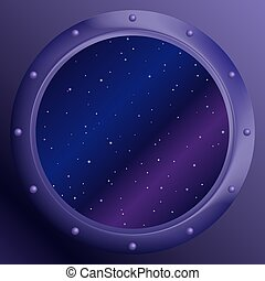 Window with stars