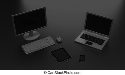 Various digital devices connection