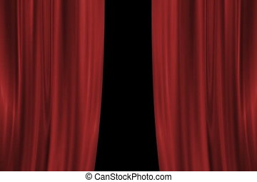 Drop Curtain NTSC - Drop Curtain Animation