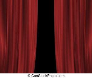 Drop Curtain PAL - Drop Curtain Animation.