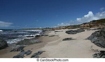 Pigeon Point - Pacific ocean coast near Pigeon Point...