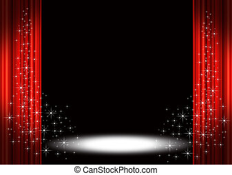Stage stock illustrations by vectomart 43 2069 theater stage stock