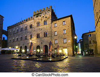 Volterra- Tuscany - Ancient village Volterra in Tuscany -...