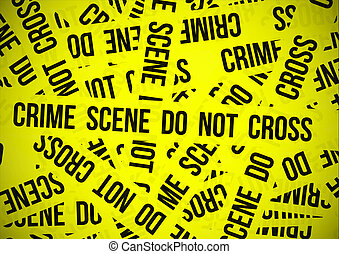 Crime scene do not cross wallpaper