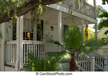 Typical architecture in Key West Florida.