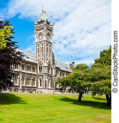 University of Otago - Clocktower of University of Otago...