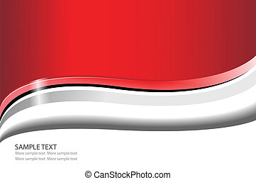 Business background red and white, vector