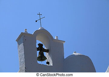 Ibiza - Old Church in Ibiza