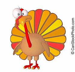 turkey - 3d render