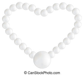 Pearl - Beautiful pearl necklace