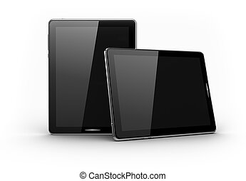 Digital pads - Touch screen concept