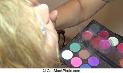 Makeup for models