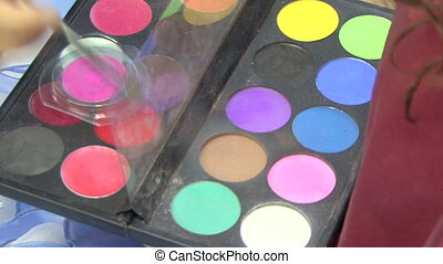 Cosmetics - Beautician for make-up artist.