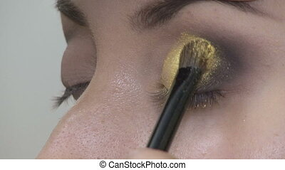 Beautiful makeup for the eyes
