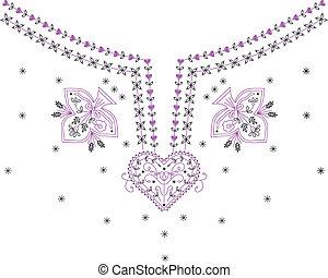 Neckline Chandelier Necklace